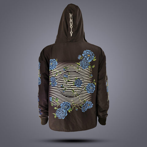 Image of Floral Weatherproof Tech Jacket