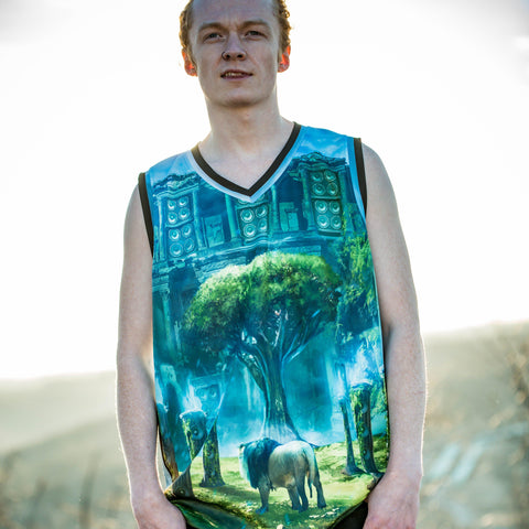 Image of Sonic Ruins Sublimated Basketball Jersey