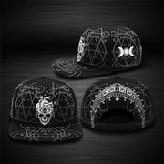 Headbang Society X The Buried Flat Brim Hat