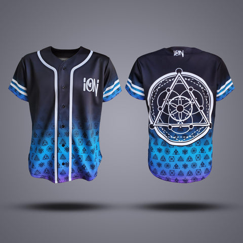 Official ION Sublimated Baseball Jersey