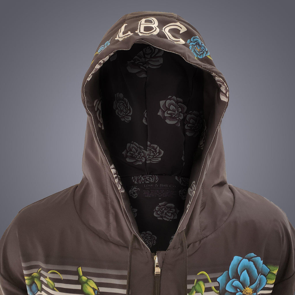 Floral Weatherproof Tech Jacket