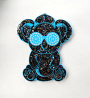 Rezz Buddies Koala and Gorilla Hat Pins