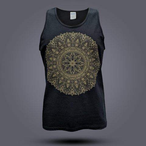Sundara Gold/Black Tank Top