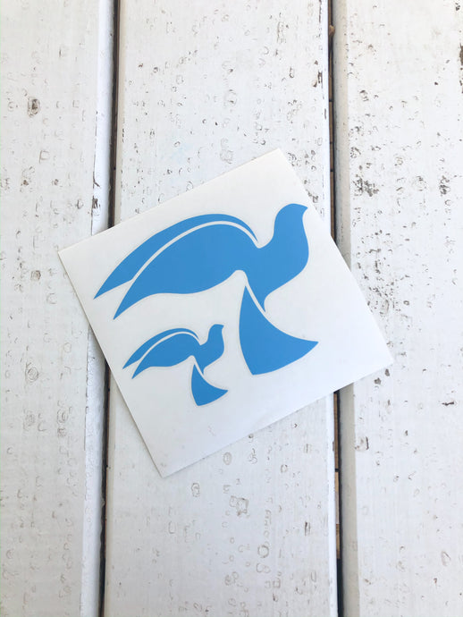 Bluebird Vinyl Decal
