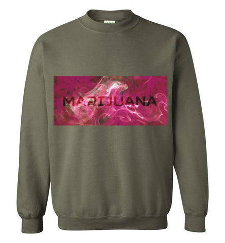 Trippy 'Marijuana' Sweatshirt