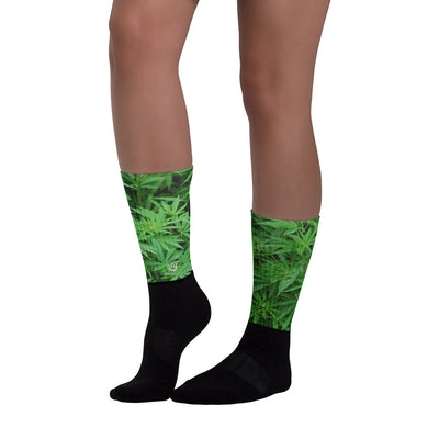 LeafCamo Long Unisex Socks