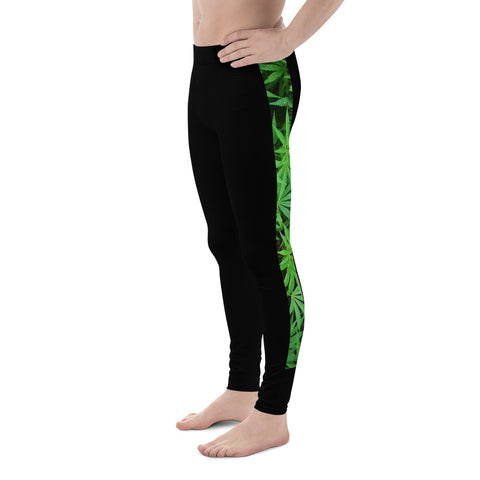 'LeafCamo' Men's Leggings