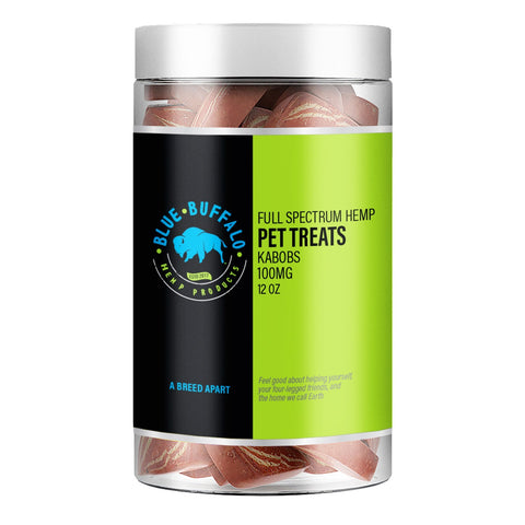 Full Spectrum CBD Dog Treats - Kabobs 12oz