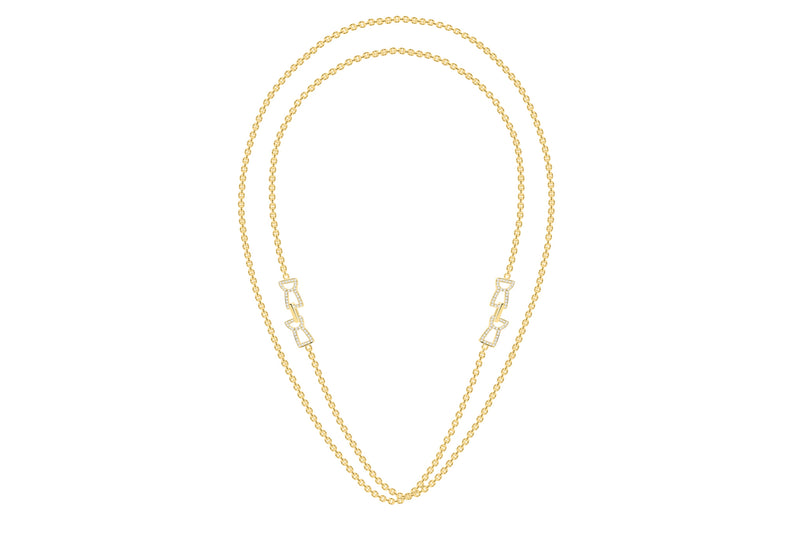 Latte Infiniti Necklace - 24K Gold