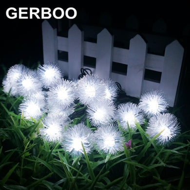 20 LED Solar Powered Garden Lights - The Unique Home