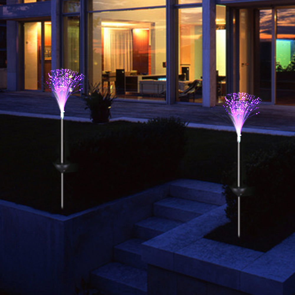 Outdoor Fiber Light - The Unique Home