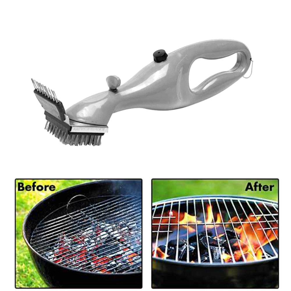 Stainless Steel BBQ Grill Cleaning Brush