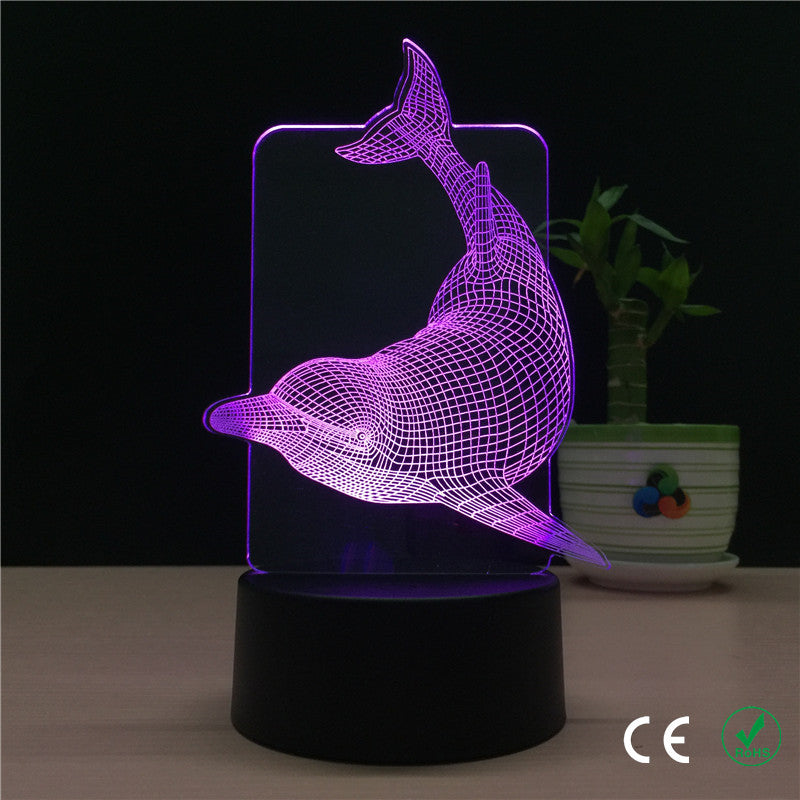 Dolphin LED Light 3D - The Unique Home