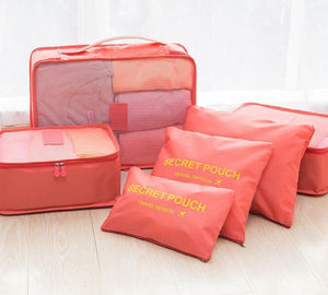 6 PCS Travel Portable Storage Bag - The Unique Home