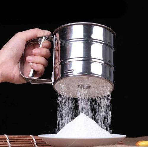 Stainless Steel Sieve Cup - The Unique Home