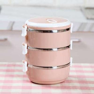 Stainless Steel Stackable Bento Lunch Box