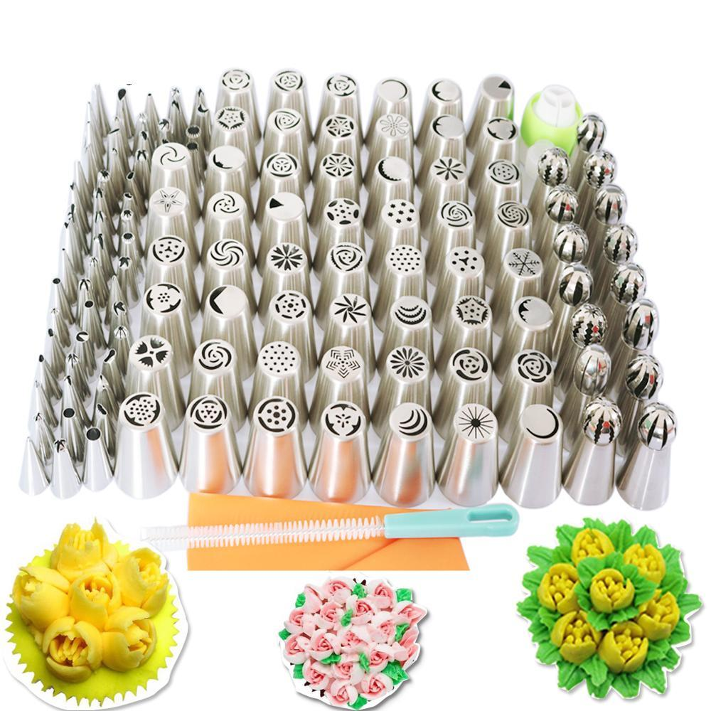 129PCS Russian Stainless Steel Nozzles