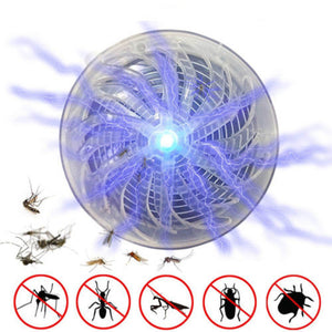 Solar Powered Mosquito Killer Lamp