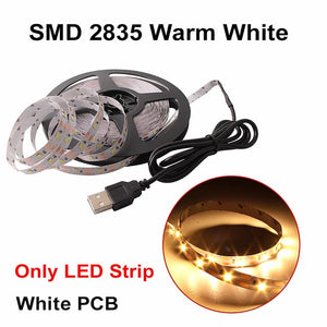 LED Light White/Warm White RGB USB LED Strip