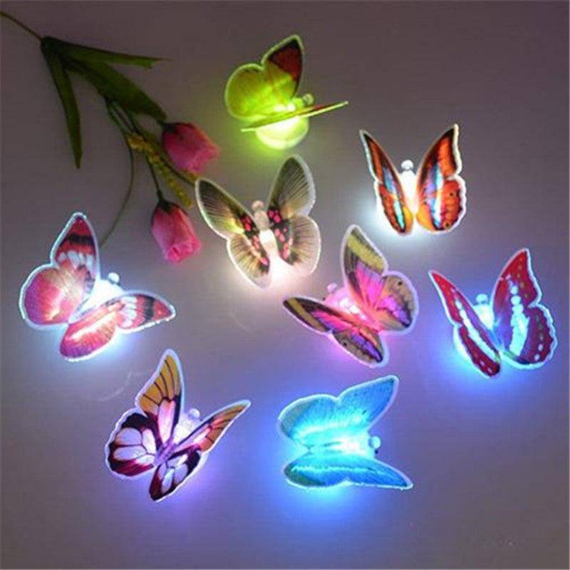 Cute Butterfly Color Changing LED Night Light