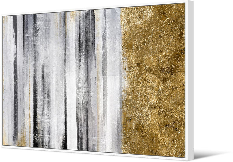 Abstract Gold Monochrome 102 x 142