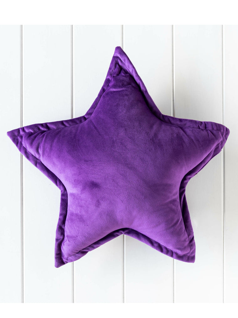 Nova Star Velvet Cushion Purple