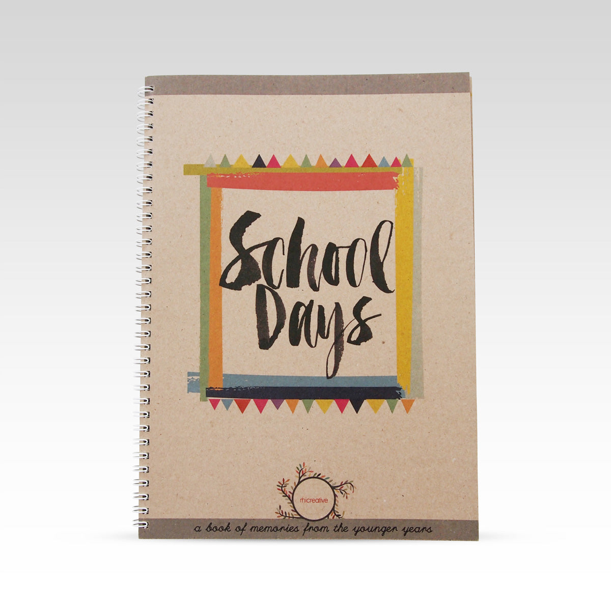 School Days Book from Rhicreative