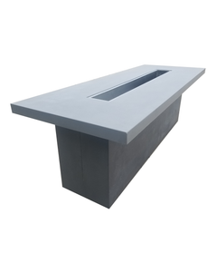 Concrete Fire Table: Contemporary