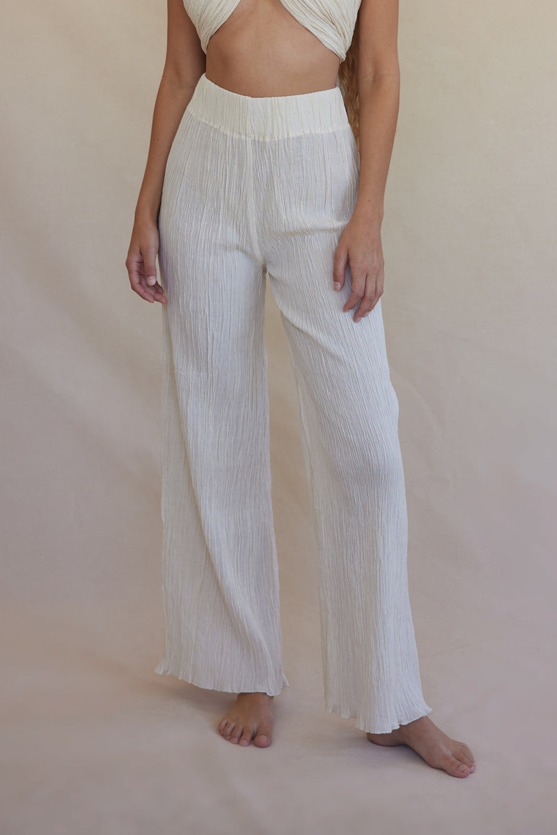 Naia Pant Organic Cotton - Cream