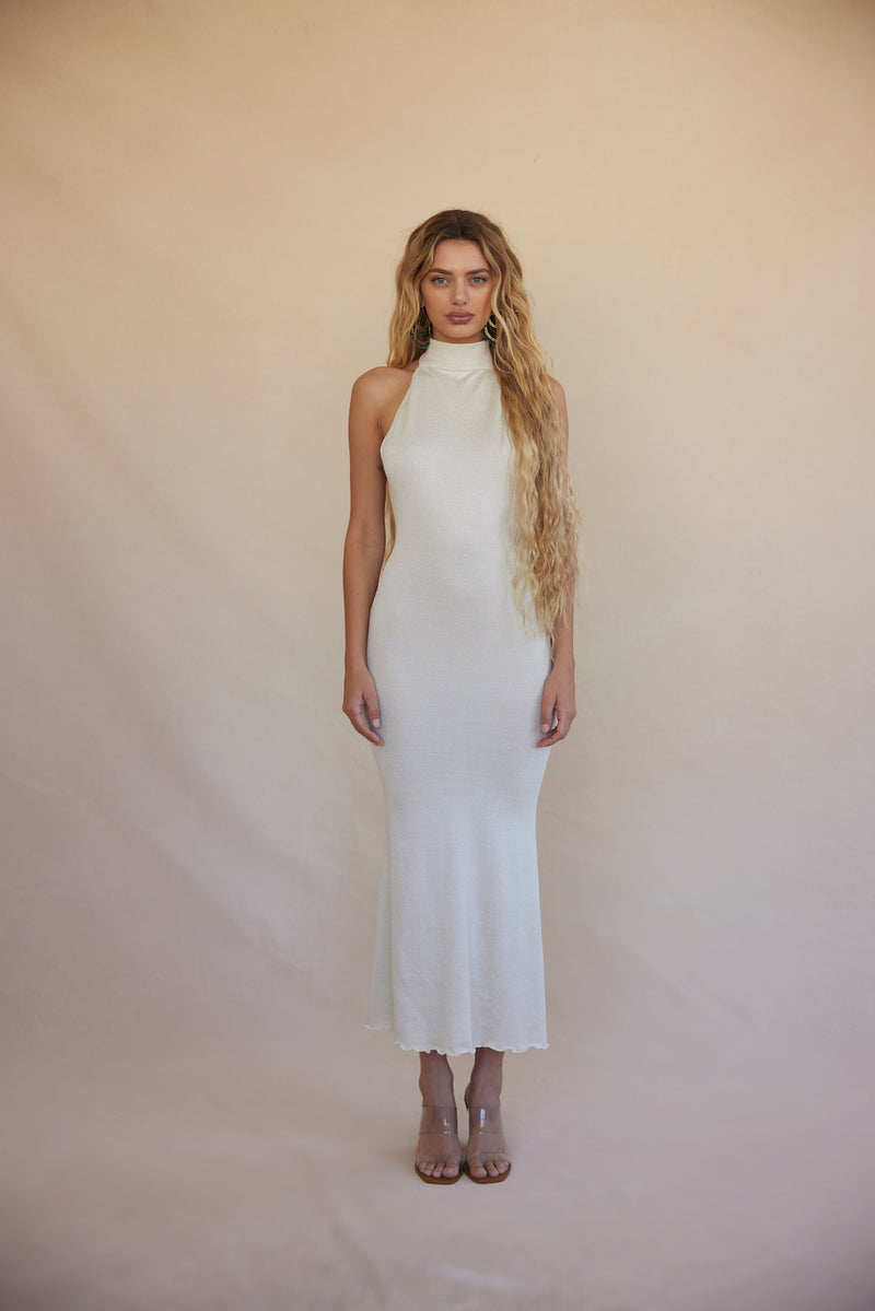 Eir Knit Dress - Cream