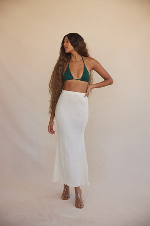 Abelia Skirt Organic Cotton - Cream