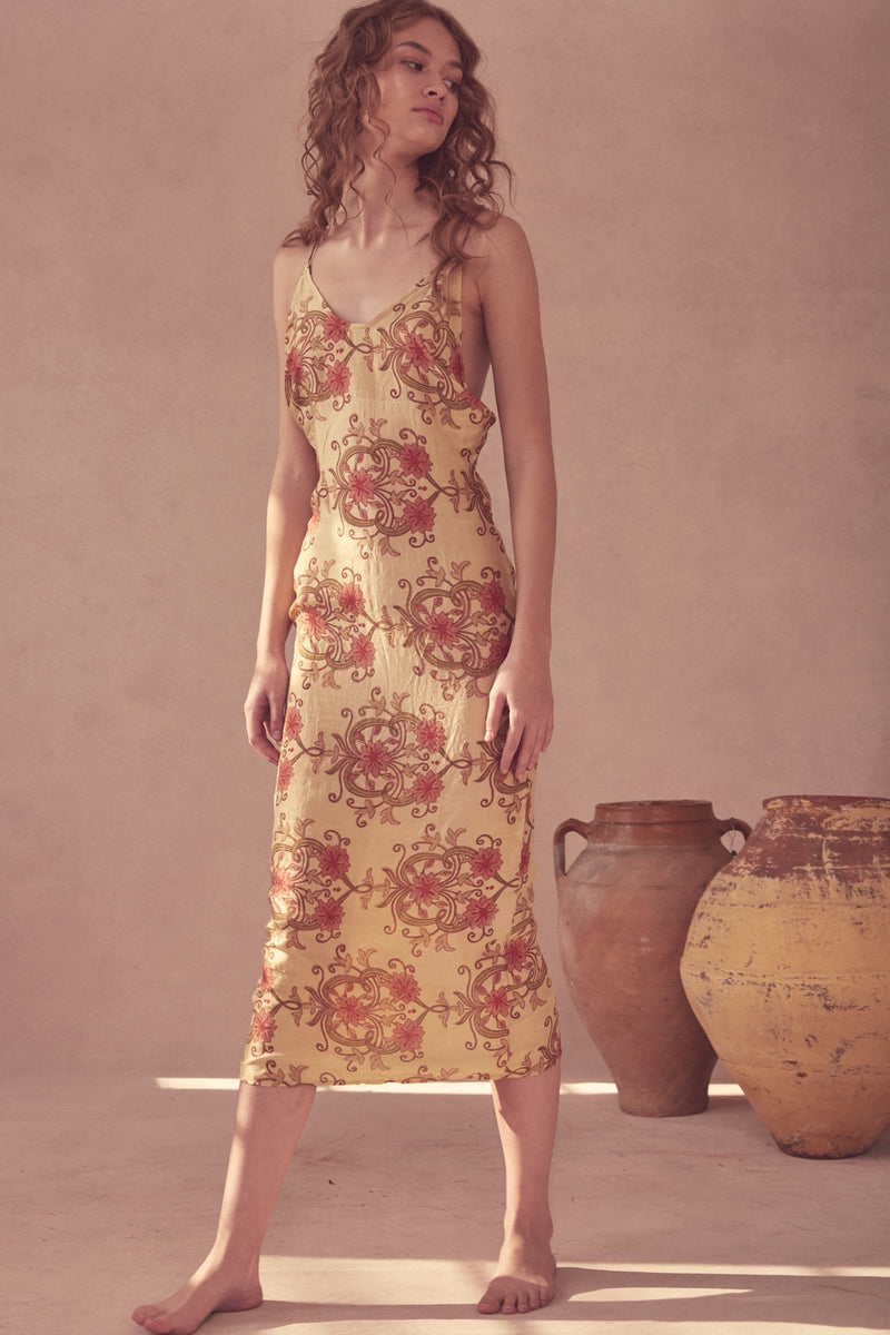 Ahimsa Silk Dress - Orla