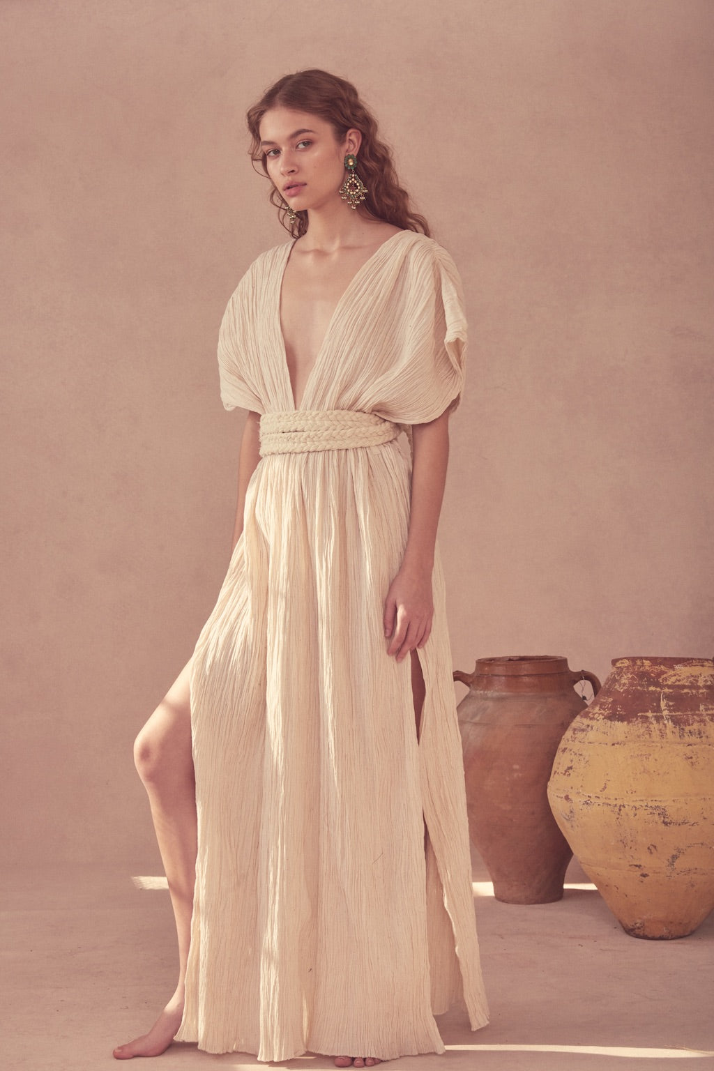 Kamala Dress - Cream