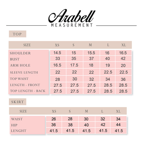 Arabell Kurung measurement