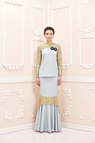 Chloe Kurung Blue Powder