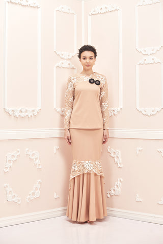Chloe Kurung Cream Butter