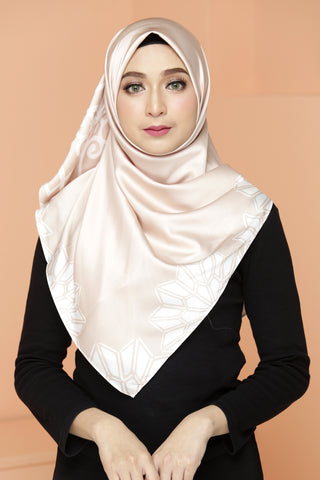 Al-Hamra Scarf Cream Butter