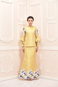 Madelin Kurung Yellowy