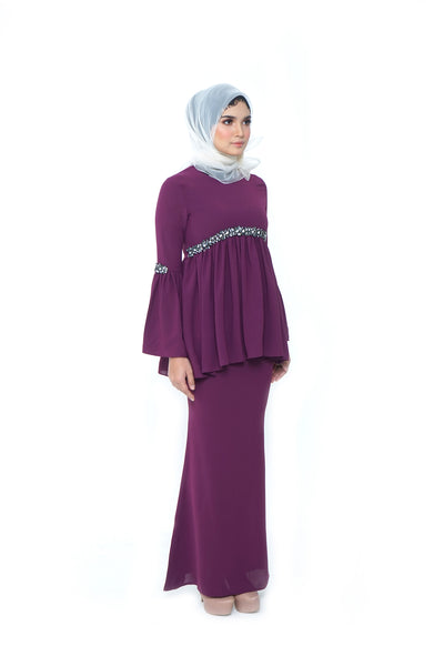 Celine Kurung Purple