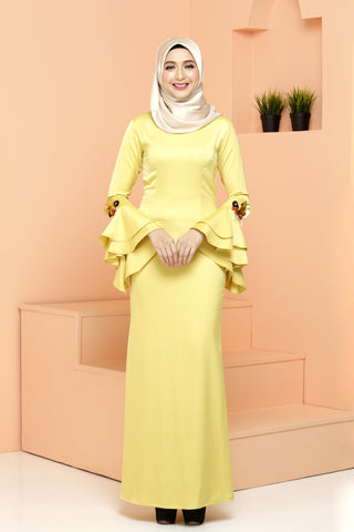 Fiona Dress Yellow