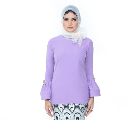 Arabell Blouse Purple