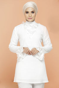Lovia Blouse White Snow