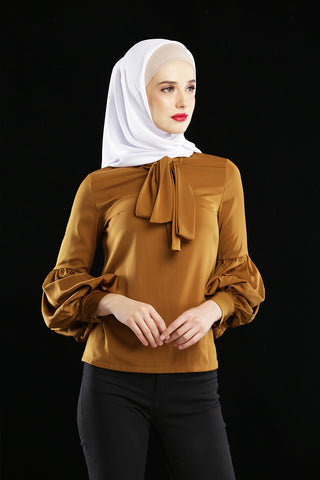 Everlyn Blouse Caramel