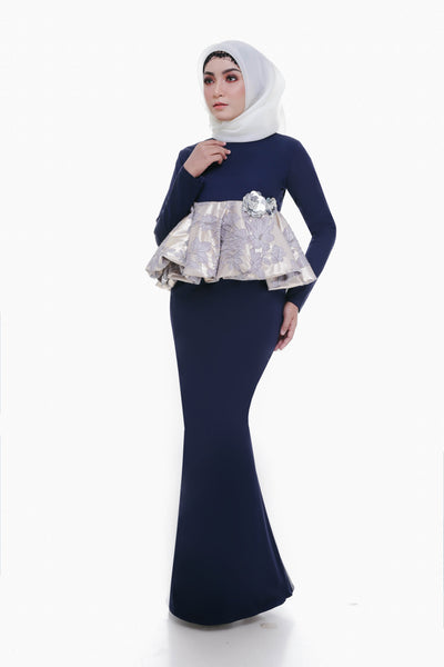 Deandra Dress Navy