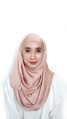 Sateen Eyelash Shawl Champagne