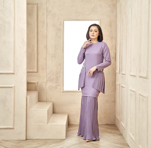 Grace Kurung Lilac Purple