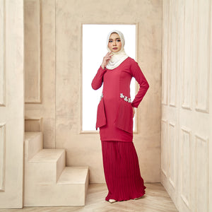 Grace Kurung Red Wine