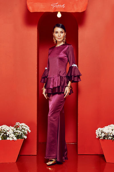 Orked Kurung Purple