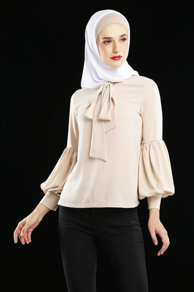 Everlyn Blouse Nude