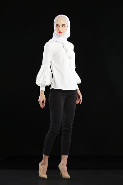Everlyn Blouse White